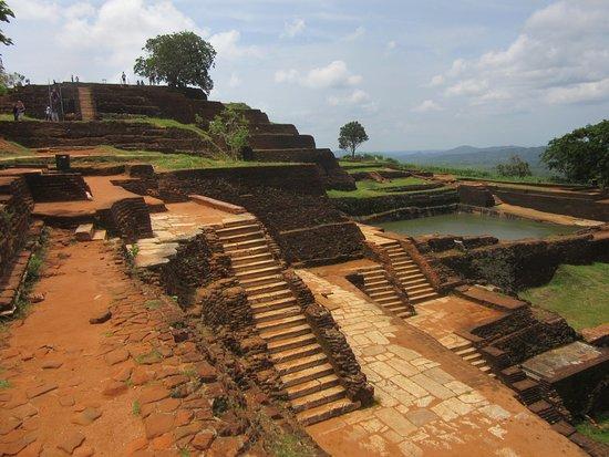 Sigiriya The Ancient Rock Fortress: Festungsanlage
