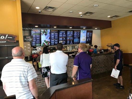 McAlister's Deli : Order counter
