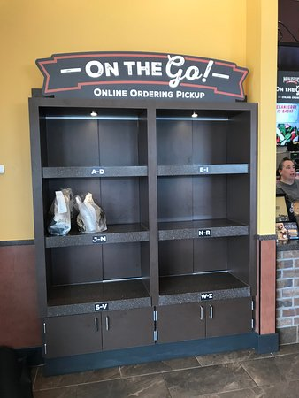 McAlister's Deli : To go pick-up