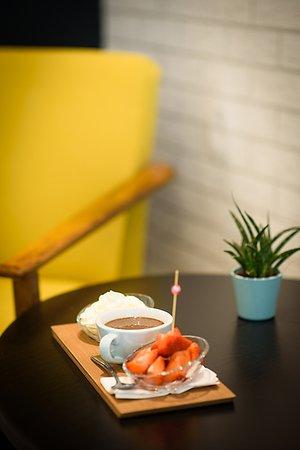 Pralinka: Hot chocolate