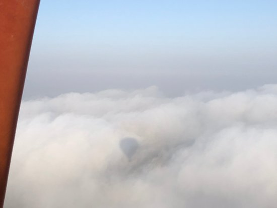 1-hour Private TOP VIP Hot Air Balloon Flight North Marrakech with Breakfast: in the clouds