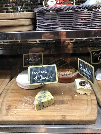Grand Café Malarte: סוגי גבינות