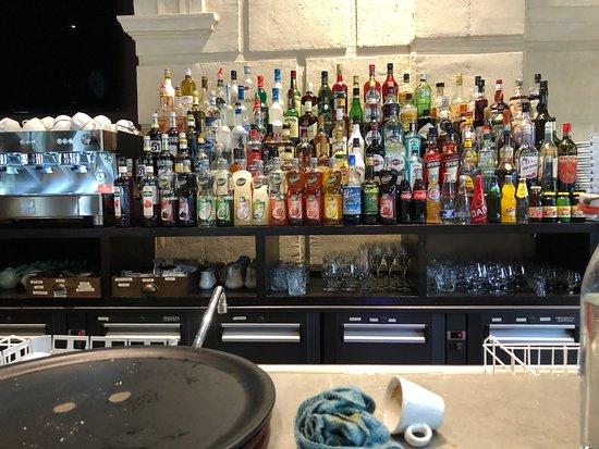 Grand Café Malarte: בר המשקאות