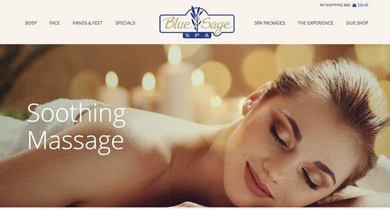 Blue Sage Spa, Facials, Massage, Manicure/Pedicures and More!
