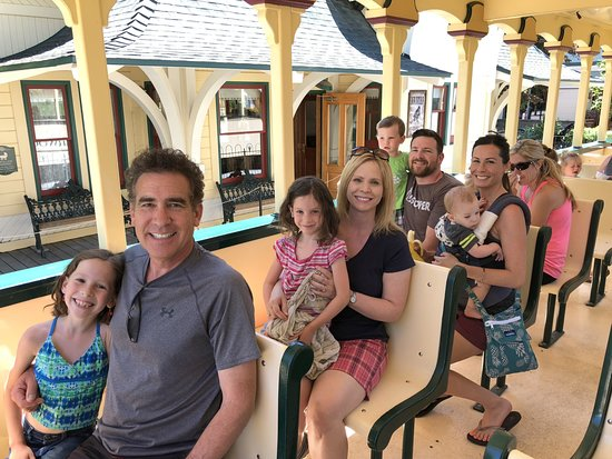 Silverwood Theme Park: Ready to ride the train