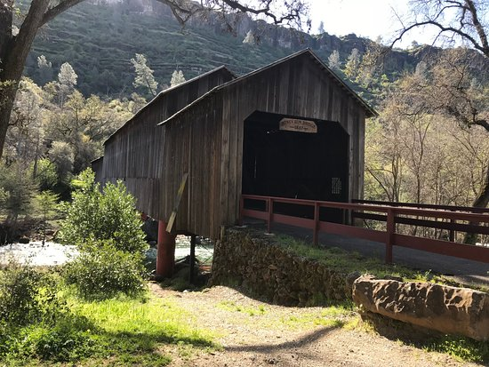 Honey Run Covered Bridge: ON private property