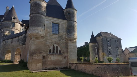 La Celle-Guenand, France: Das Chateau