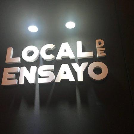 Local de Ensayo: Muy buena propuesta que en breve tendrá recompensa !!