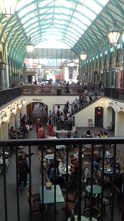 Covent Garden: upper and lower halls