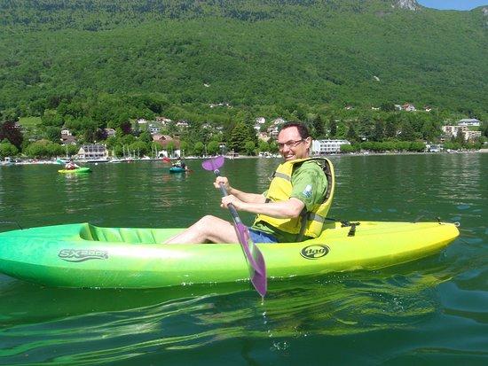 Chambéry-Le Bourget Canoë-Kayak: Location de kayak monoplace!