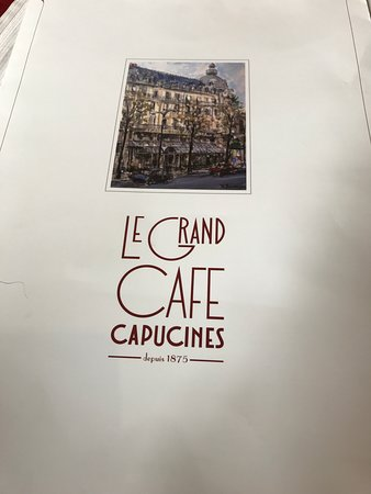 Le Grand Cafe Capucines Photo