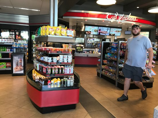 Kitchen's Food Counter in back - Picture of Quiktrip