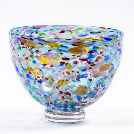 """J. Draper Glass: Fruit Bowl Class – Make a functional footed bowl approximately 5"""" tall by 6"""" wide at the top."""