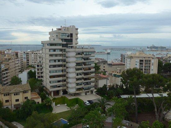 Hotel Isla Mallorca & Spa: View from upper floors.