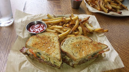 Wyoming, OH: Reuben with Fries ($14)