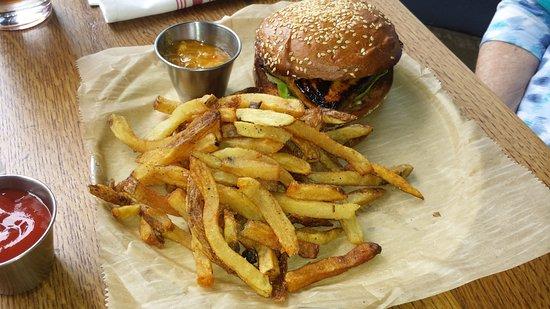 Wyoming, OH: Mahi-mahi Sandwich with Fries ($14)