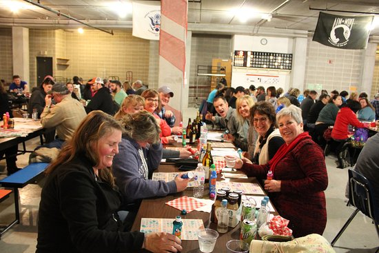 Green Lake Town Square: Town Square hosts themed Bingo every last Saturday of the month with over 200 regular players.