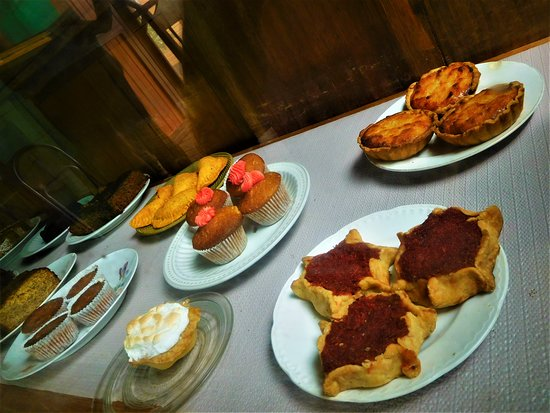 Island Bakery & Sweets: Algunos postres.
