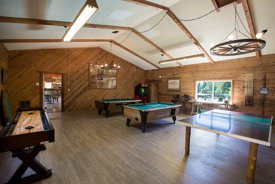 Quincy, แคลิฟอร์เนีย: Billiards Room