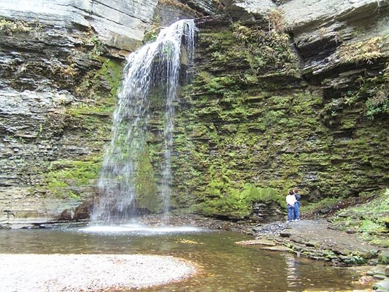 Eagle's Cliff Falls: Taller than it looks!