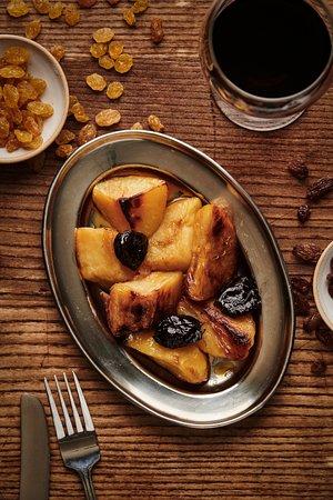 Dar: roasted potato,  caramel, prunes