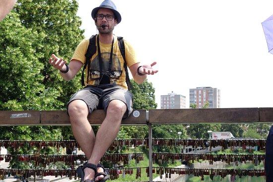 Ljubljana Free Tour: Bohan in full flow!