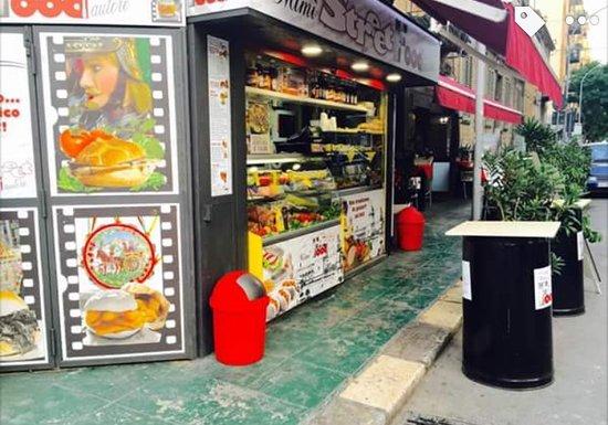 Chiosco unico di vero street food