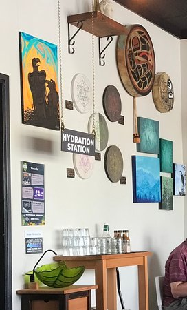 Hydration STation, Realm Food Co, Craig street, Parksville, BC