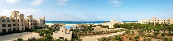 Santa Monica, Cape Verde: View from our hotel room Block 9