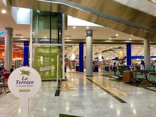 Centro Comercial Plaza Éboli: Zona comercial Plaza Éboli
