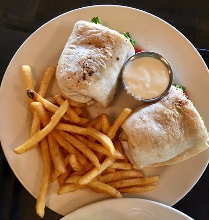 Winona Lake, IN: The Boathouse - Cajun Wrap
