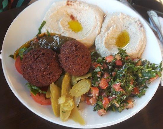 Open Sesame: my dinner, vegetarian