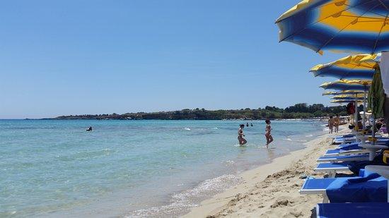 Fontane Bianche, Italie : Beach at Fontane Bianchi