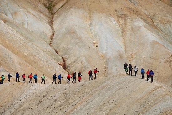 The Icelandic Mountain Company: Mystical landscape near Landmannalaugar