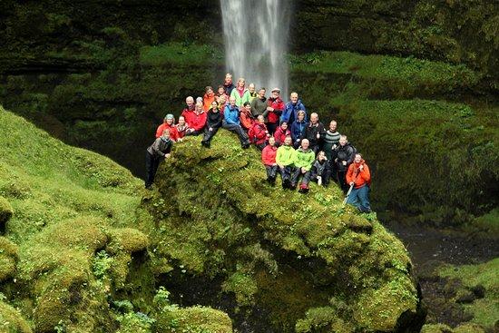 The Icelandic Mountain Company: Exploring canyon near Skogar