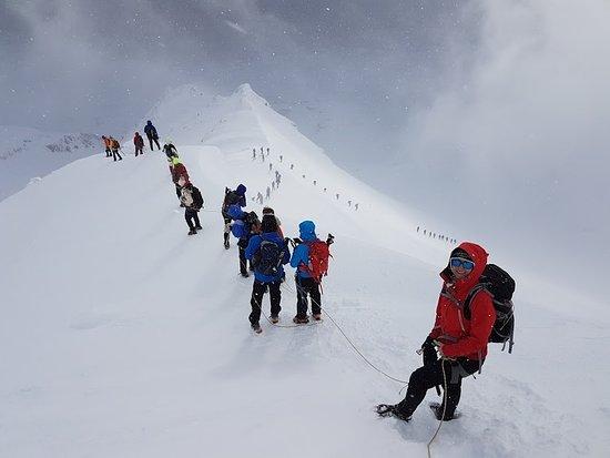 The Icelandic Mountain Company: Winter climbing on Ljósufjöll mountains in the Snaefellsnes Peninsula
