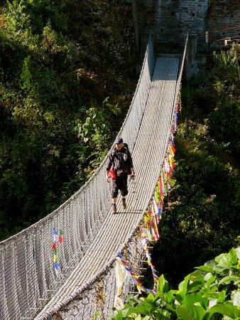 Himalayan Friendly Treks: Some high bridges
