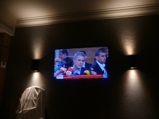 Barcelo Emperatriz: The room TV (I think it is 50 inches)