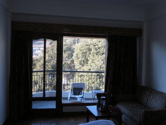 Hotel Dalhousie Heights: REAR SIDE BALCONY