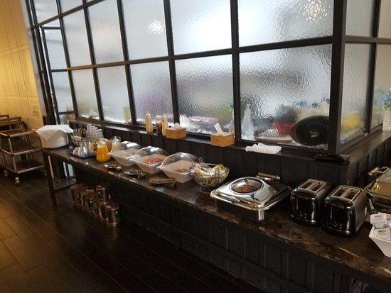 Trang Blue Hotel : Breakfast Buffet