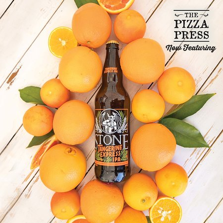 The Pizza Press: Local Beers