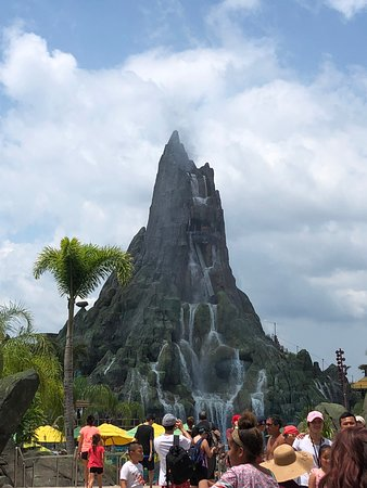 Universal's Volcano Bay: Only part we saw