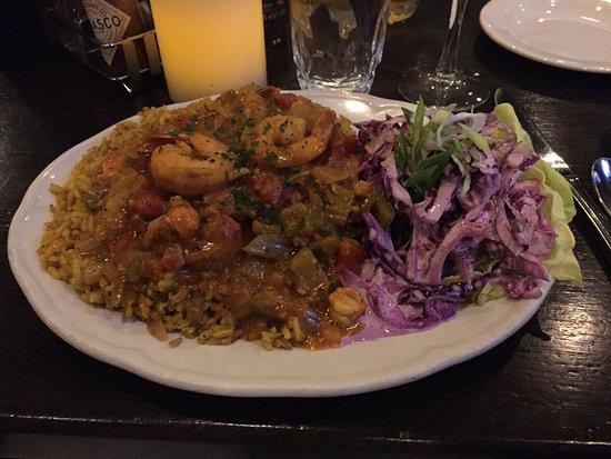 Louisiana Purchase: Shrimp and crawfish etouffee