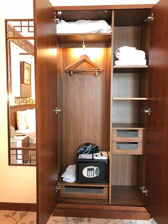 โรงแรม หลานไกวฟง: Lan Kwai Fong Hotel  - closet and safe