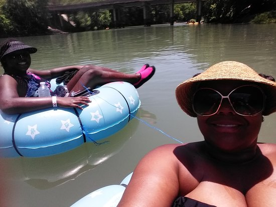 Whitewater Sports Guadalupe River Tubing: Loving this day