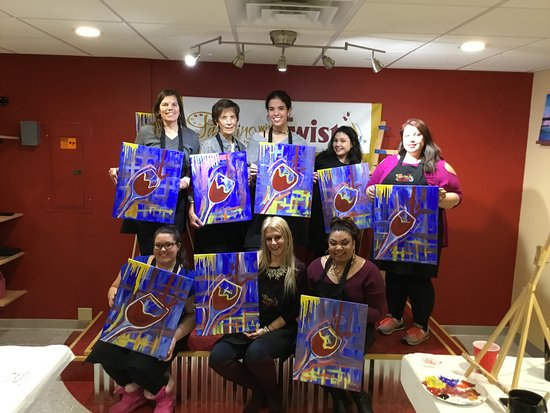 Painting With A Twist: Good times
