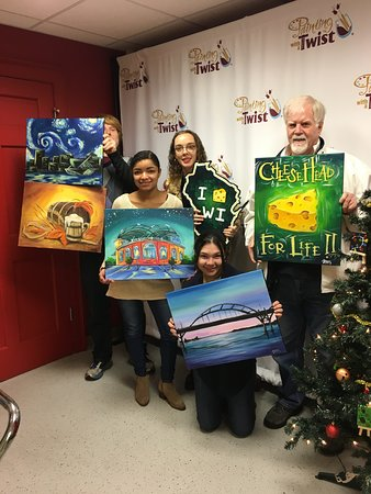 Painting With A Twist: Keeping it local