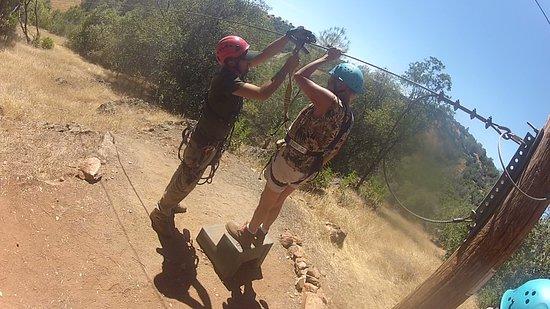 Yosemite Zipline Tour: I can do this!