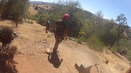 Yosemite Zipline Tour: I'm flying!