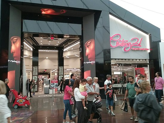 Sawgrass Mills: Saw Grass Mall with Century 21 in the first two photos.